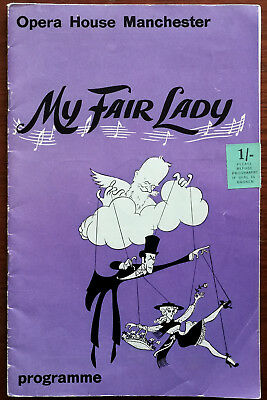 £5.49 • Buy My Fair Lady, Opera House Manchester Theatre Programme 1964