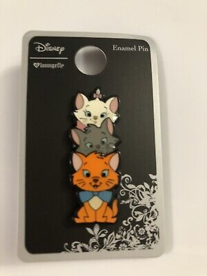 $ CDN24.25 • Buy Loungefly Disney Aristocrats Marie Berlioz And Toulouse  Enamel Pin New