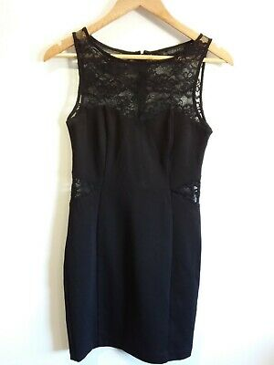 AU29.50 • Buy Beautiful Forever New Black Lace Cocktail Dress Size 10