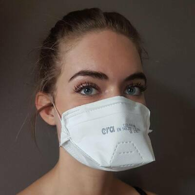 £24.99 • Buy NEW ERA FFP3 Face Mask Dust Mask Particulate Disposable Respirator -Pack Of 10,1
