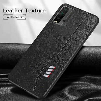 AU6.03 • Buy For Xiaomi Redmi 9T Shockproof Business Slim Soft Leather Case Hybrid TPU Cover