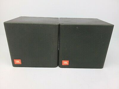AU38.67 • Buy JBL Flix 1 Surround Sound Speakers 8 Ohm Black Set Of 2