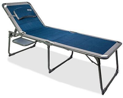 £129.12 • Buy Quest Elite Ragley Pro Range Padded Sun Lounger And Camp Bed With Side Table