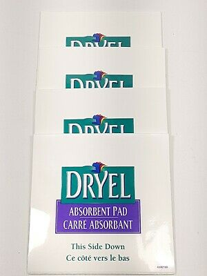 Dryel At Home Dry Cleaning Stain Remover Absorbant Pad (4 Pads) #3 • 4.23£