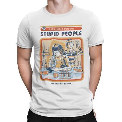 A Cure For Stupid People Film Movie Sci Fi Cult Meme Viral Youtube T Shirt • 6.95£