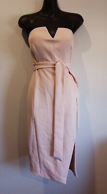 AU39 • Buy Stunning Pink Forever New Cocktail Dress Size 10