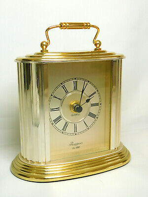 £4.95 • Buy Rapport Carriage Clock – Battery Operated Quartz Movement GWO