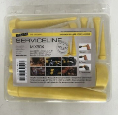£26 • Buy Yellow Hydraulic Rubber Hose Bung Hose Plug Set Of 10 Plugs PRE ORDER DUE 18/06