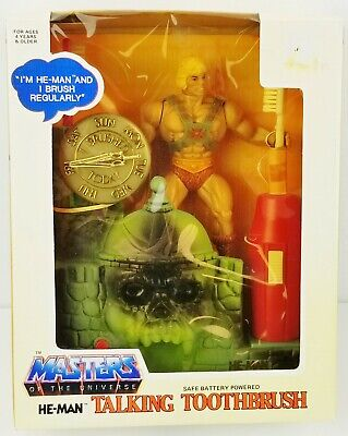 $399.95 • Buy He-Man Masters Of The Universe Talking Toothbrush 1984 Janex No. 07030 NRFB