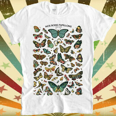 £9.85 • Buy Butterfly Nos Bons Pappilons Butterfly Encyclopedie Cavallini T Shirt 3097