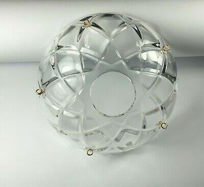 $9.99 • Buy 1 Piece -100mm(4 ) Crystal Chandelier Bobeche Chandelier Parts Cups W/Gold Pins