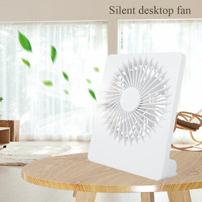 AU16.99 • Buy USB Powered Portable Table Fan Mini USB Desk Fan Small Quiet Personal Cooler