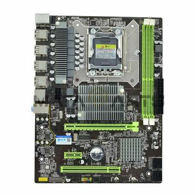 $ CDN94.63 • Buy Hongshuo X58 Pro PC Desktop Computer Gaming Motherboard LGA 1366 Socket