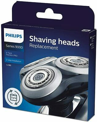 AU89.39 • Buy Philips SH90/70 Replacement Shaving Head F/ Shaver Series 9000 V-Track Precision
