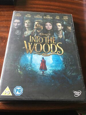 £2.94 • Buy New Sealed Disney Into The Woods DVD Sealed ⭐️⭐️⭐️⭐️⭐️