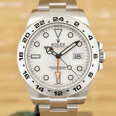 $ CDN18741.84 • Buy Rolex Explorer II White - Unworn With Box And Papers April 2021 Stickered