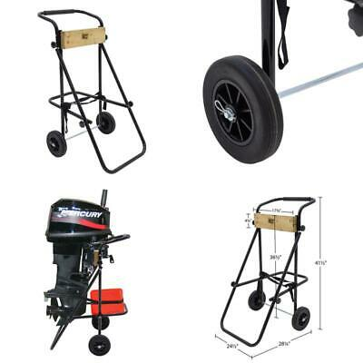 AU162.51 • Buy 30 Hp Outboard Motor Cart Engine Stand Folding Handle