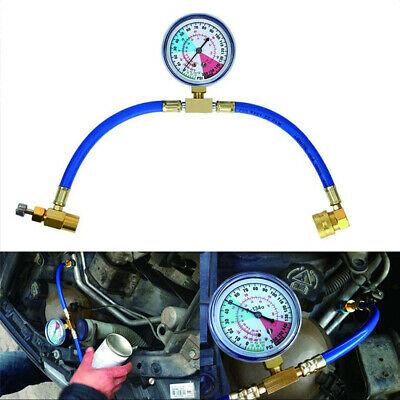 £8.99 • Buy R134a Car Conditioning Refrigerant Recharge Measuring Hose Kit Charging Adapter