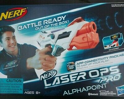 £15 • Buy Nerf Gun Laser Ops Pro Alpha Point Laser Tag Blaster App Connectivity New Boxed