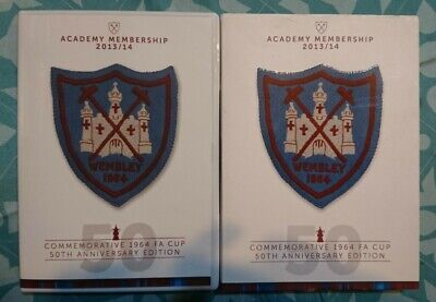 £6.85 • Buy Fa Cup Final Dvd 1964 - West Ham United Commemorate Edition With Badge