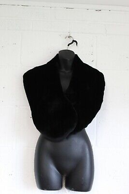 £8.50 • Buy Black Faux Fur Bolero Shrug One Size By Debut Used Condition