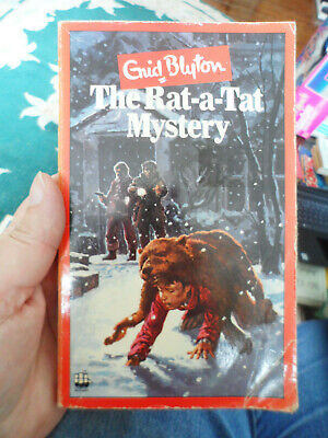 £2.22 • Buy The Rat-a-Tat Mystery By Enid Blyton 0006915639 RARE 1980 Vintage Paperback Book