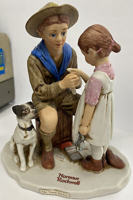$ CDN33.61 • Buy The Young Doctor - Dave Grossman 1977 Figurine Norman Rockwell Collectible