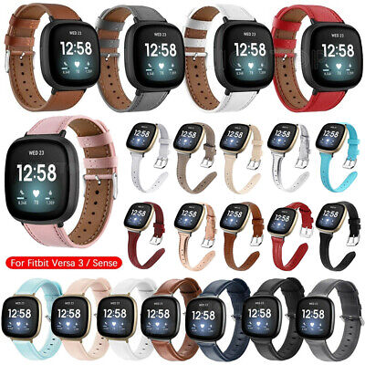 $ CDN11.63 • Buy Variouse Leather Band Strap For Fitbit Versa 3/Sense Replacement Watch Bracelet