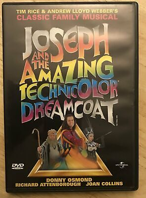 £5 • Buy Joseph And The Technicolour Dreamcoat DVD Musical