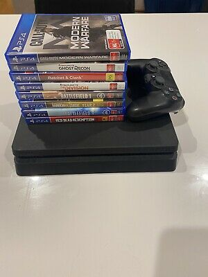 AU256 • Buy Sony PlayStation 4 Ps4 Slim 500gb Console + 8 Games