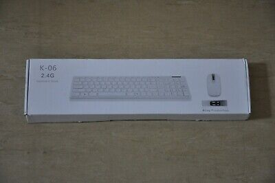 K-06 2.4G Wireless Keyboard And Mouse Combo For Notebook PC Desktop Computer • 3.99£