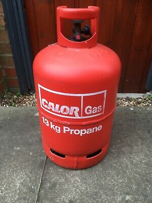 Calor Gas Bottle Propane 13kg - Some Gas,  Barbecue, VW, Camper. Empty • 25£