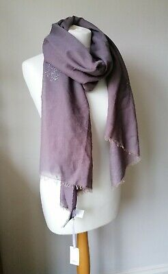 £8 • Buy Soft East 60% Cotton/40% Wool  Scarf /shawl /sarong