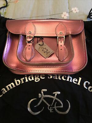 Cambridge Satchel Company Bag Pink With Glitter • 19.40£