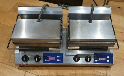 Rowland Rutland RE200DT Double Commercial Panini Toastie Contact Grill Machine • 26£