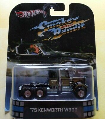$ CDN102.83 • Buy Hot Wheels '75 Kenworth W900 Smokey And The Bandit Retro Ent #X8932 New Blk 1:64