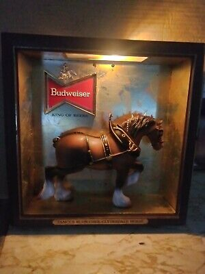 $ CDN54.41 • Buy Vintage Budweiser Clydesdale Display Light
