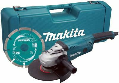 AU306.46 • Buy MAKITA - GA9020KD/1 - 9inch (230mm) 2000W Angle Grinder With Diamond Blade 110V