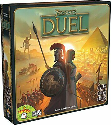 AU46.69 • Buy 7 Wonders Duel Board Game BASE GAME | Board Game For 2 Players | Strategy Boa...