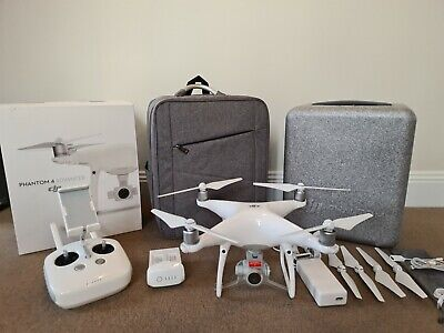 AU630 • Buy Dji Phantom 4 Advanced Drone 4K **Brand New Condition** Inc Carry Case/backpack