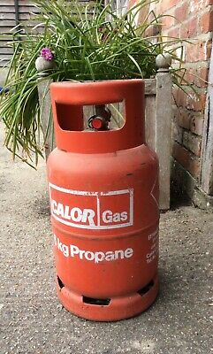 One 6kg Calor Gas Bottle (propane). Some Gas. • 23£