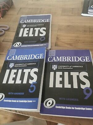 £5 • Buy Cambridge IELTS 9 Student's Book With Answers: Authentic Examination Papers Fro…