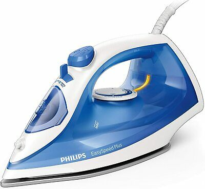 AU69.59 • Buy Philips EasySpeed Plus Steam Iron With Non-Stick Soleplate, 2000W, GC2140/29