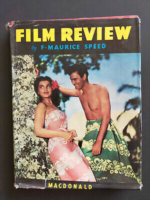 £5 • Buy FILM REVIEW ANNUAL By F. Maurice Speed   1951-1952 Incl The Year In Disney-Land
