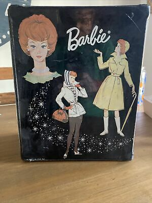 $ CDN27.21 • Buy Vintage 1963 Barbie Carrying Case By Mattel With Accessories