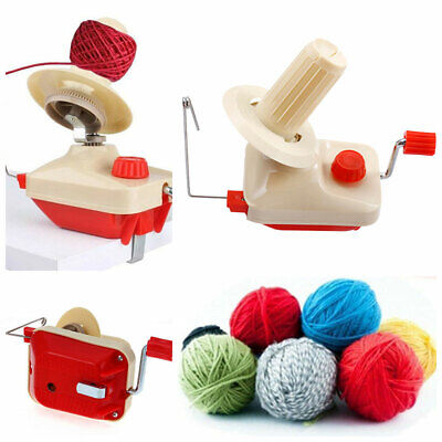 Swift Yarn Fiber String Ball Wool Winder Holder Hand Operated Machines Tool Kit • 13.70£
