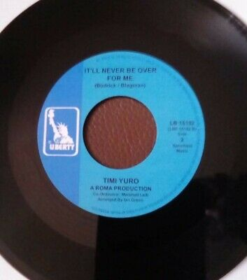 Timi Yuro - It'll Never Be Over For Me. New 7 . Northern Soul • 34.99£