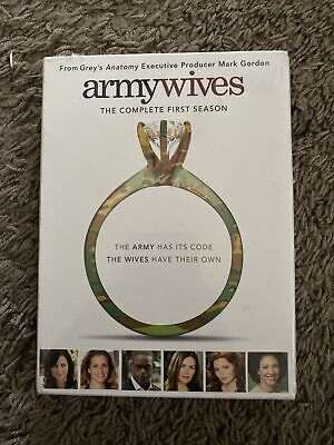 £6.18 • Buy Army Wives - The Complete First Season (DVD, 2008, Multi-Disc Set) New Sealed