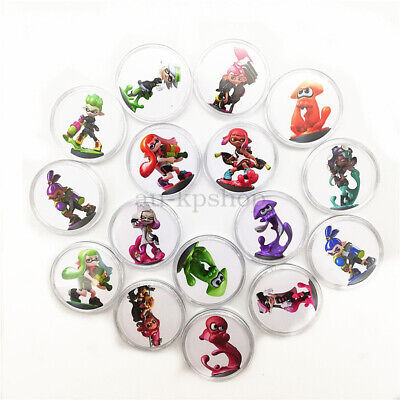 AU28.19 • Buy Splatoon 2 16PCS PVC NFC Tag Game Amiibo Cards Octoling Octopus For Switch AU
