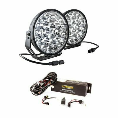 """AU143.95 • Buy Adventure Kings Domin8r Xtreme 9""""LED Driving Lights + Spotlight Wiring Harness"""